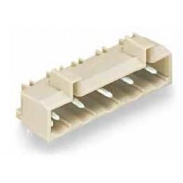 Connecteur mâle Pas 7,5mm gris ref. 721-834/001-000 Wago