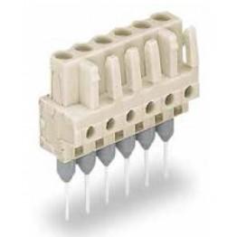 Connecteur femelle gris  ref. 722-135/005-000 Wago