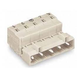 Connecteur mâle 2,5mm2 gris ref. 723-605 Wago