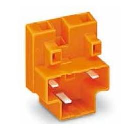 Connecteur dérivation orange ref. 730-113 Wago
