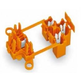 Connecteur dérivation orange ref. 730-123 Wago