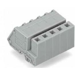 Connecteur femelle 2,5mm2 gris ref. 731-511/008-000 Wago