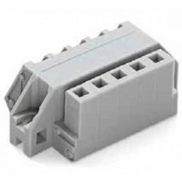 Connecteur femelle 2,5mm2 gris ref. 731-512/031-000 Wago