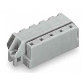 Connecteur femelle 2,5mm2 gris ref. 731-538/031-000 Wago