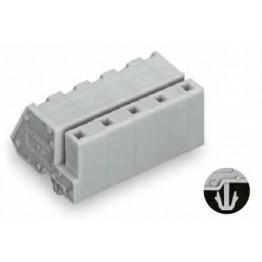 Connecteur femelle 2,5mm2 gris ref. 731-542/008-000 Wago