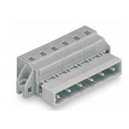 Connecteur mâle 2,5mm2 gris ref. 731-606/019-000 Wago