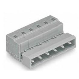 Connecteur mâle 2,5mm2 gris ref. 731-608 Wago