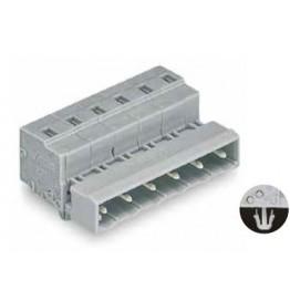 Connecteur mâle 2,5mm2 gris ref. 731-608/018-000 Wago