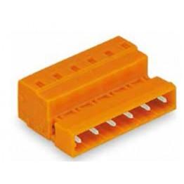 Connecteur mâle Orange ref. 731-637 Wago