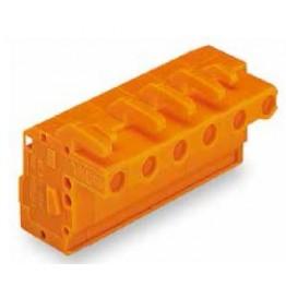 Connecteur femelle Orange ref. 732-132/026-000 Wago
