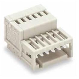 Connecteur mâle 0,5mm2 gris ref. 733-212 Wago