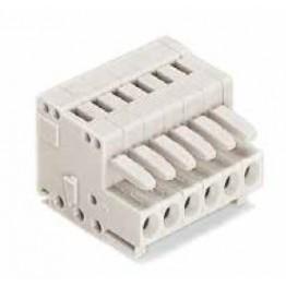 Connecteur femelle 1,5mm2 ref. 734-104 Wago
