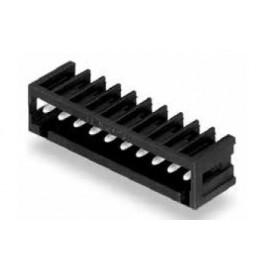 Connecteur mâle 10P noir ref. 734-170/105-604 Wago