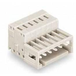 Connecteur mâle 1,5mm2 gris ref. 734-312 Wago