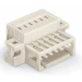 Connecteur mâle 1,5mm2 gris ref. 734-313/019-000 Wago