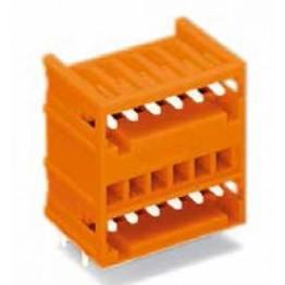 Connecteur mâle 2 étages  ref. 734-438 Wago