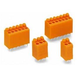 Bloc de bornes 1,5mm2 Pas 3,81 ref. 735-126 Wago