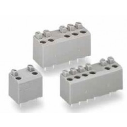 Bloc de bornes 1,5mm2 Pas 5mm ref. 735-306/001-000 Wago