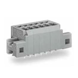 Barrette à bornes 1,5mm2 grise ref. 739-306/001-000 Wago
