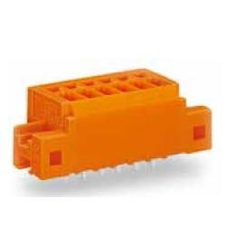 Barrette bornes 1,5mm2 orange ref. 739-334/001-000 Wago