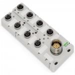 Répartiteur IP67 5 pôles  ref. 757-145 Wago