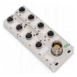 Répartiteur IP67 4 pôles  ref. 757-184 Wago