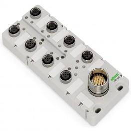 Répartiteur IP67 5 pôles  ref. 757-185/100-000 Wago