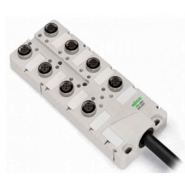 Répartiteur IP67 4 pôles  ref. 757-244/000-010 Wago