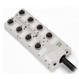 Répartiteur IP67 4 pôles  ref. 757-264/000-010 Wago