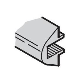 Enjoliveur 63F gris clair ref. 20850185 Schroff