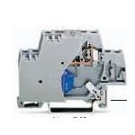 Borne grise 2,5mm2  ref. 280-502/281-583 Wago