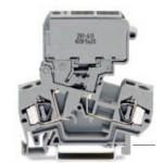 Borne à fusible grise 4mm2
