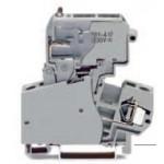 Borne à fusible grise 4mm2 ref. 281-623/281-417 Wago