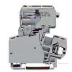 Borne à fusible grise 4mm2 ref. 281-623/281-541 Wago