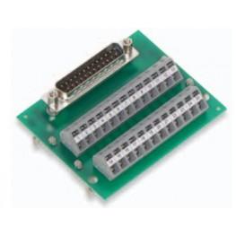 Module interface Sub-D mâle ref. 289-449 Wago