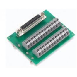 Module interface Sub-D femelle ref. 289-453 Wago