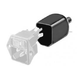 Embase IEC avec fusible 10A  ref. 4301-2124 Schurter